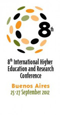 8 IHER conference logo